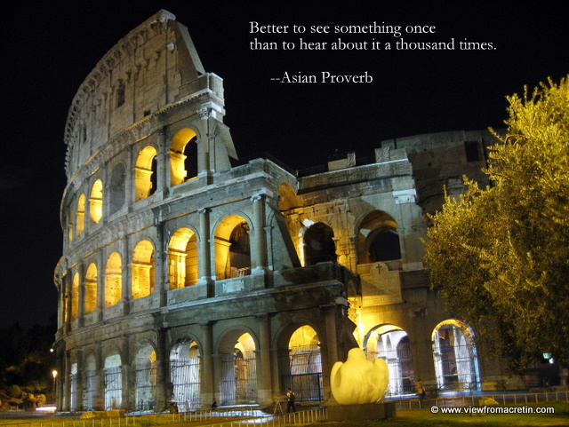 Italy Quotes Delectable The Inspiration Series  Rome Italy Quote Is Asian Proverb