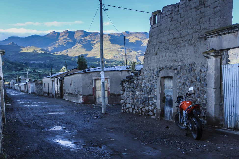 """""""Motorcycle Diaries"""", anyone?  A two wheeled instrument of freedom is begging to be ridden."""