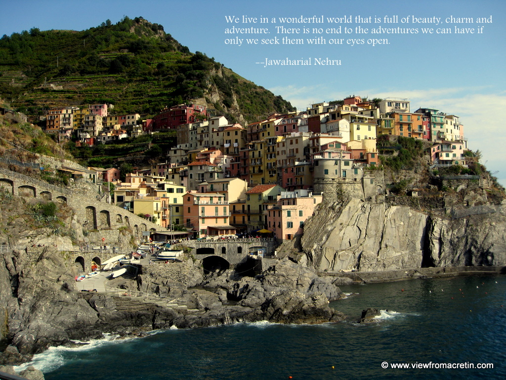 Italy Quotes The Inspiration Series  Cinque Terre Italy Quotejawaharial